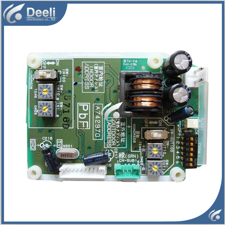 ФОТО 95% new good working for air conditioning motherboard control board A742970 P board