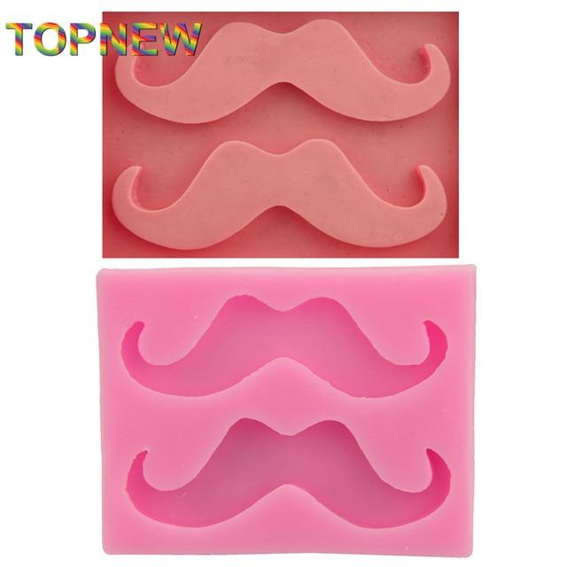Lustige Schnurrbart Bart Silikon Kuchen Formen Für Fondant Jello Gelee  Zucker Ice Soap Formen Küche Kuchen