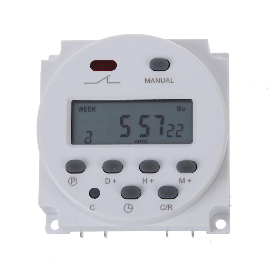16a Programmierbare Lcd Willensstark Schalter Ac 220 V-240 V Digital