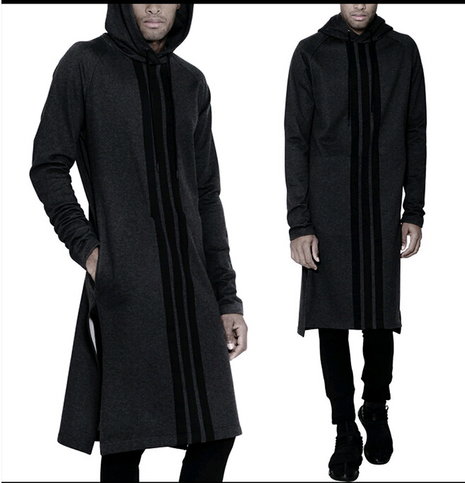 Images of Long Hoodie Men - Reikian