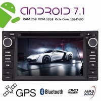 6.2 inch Multi touchscreen Double 2 din Car Stereo Radio For TOYOTA Corolla EX in Dash Octa Core Android 7.1 Car CD DVD Player