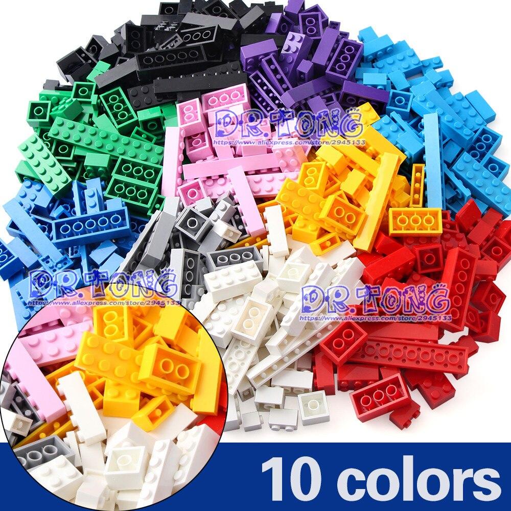 DR. TONG 500 PCS Briques Creative Designer Classique BRICOLAGE Blocs Ensembles Ville Éducatifs Bricolage Jouets Enfants Cadeaux 10 couleurs
