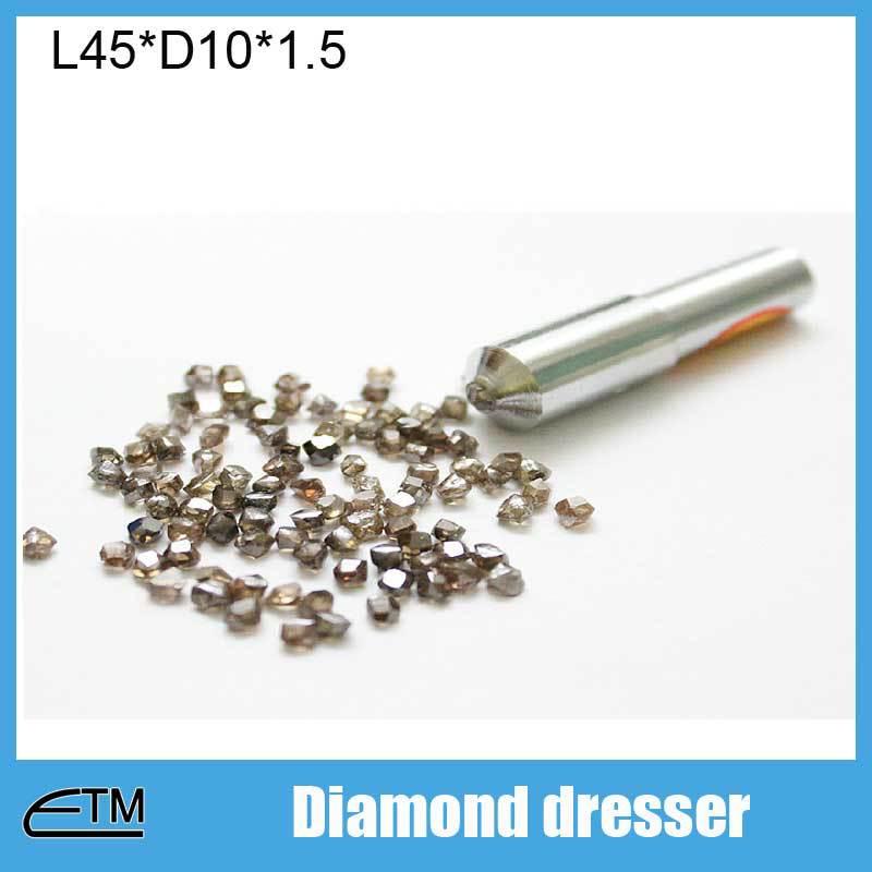 ФОТО High abradablity diamond dresser for grinding wheel Length45 Diameter10 DT003