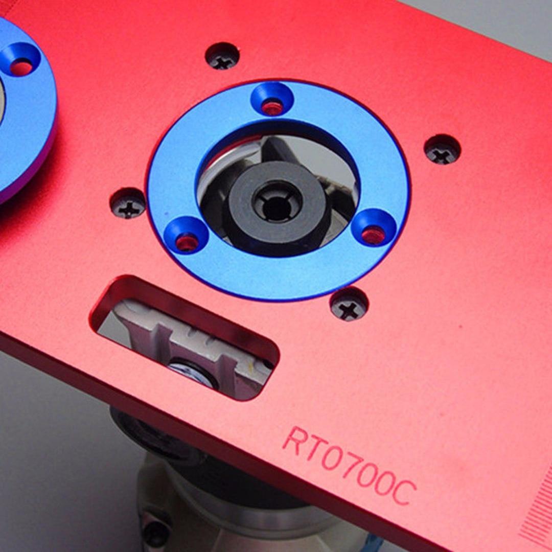 Plaque d'insertion universelle de Table de routeur de haute qualité pour bricolage - 6