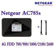 Unlocked Netgear Aircard AC785s 785s LTE 4g router 4g lte mifi router 4G LTE pocket wifi router Hotspot Plus antenna