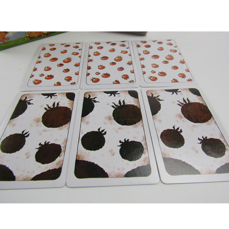 Funny Card Game Alles Tomate! Board Game 2-8 Players Family/Party Best Gift for Children Kids Memory Cards Game Fans