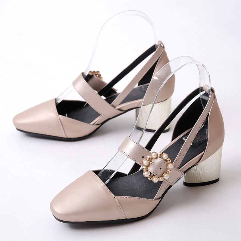 2017 New Promotion Ladies Shoes Sapato Fashion  Feminino Big Size 32- 45 Sandals Ladies Retro Shoes High Heel Women Pumps 520 big promotion 100