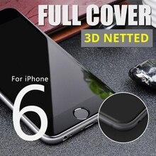 """3D полное покрытие Стекло для Apple iPhone 6/6 s 4.7 """"Экран протектор Защитная Закаленное Стекло на телефон плюс easy Install Tool"""