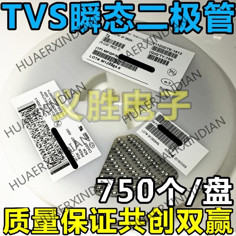 20 шт 5В двунаправленный TVS проходной диод SMBJ5. 0CA (P6KE5. 0CA) DO-214AA