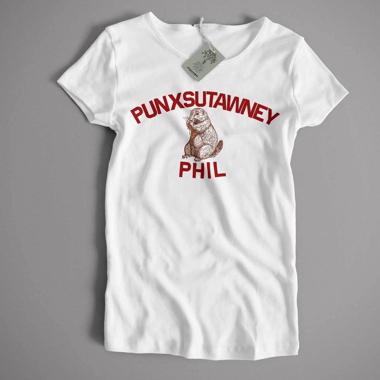 As Worn In Groundhog Day T Shirt - Punxsutawney Phil Cult Movie Comedy T shirt