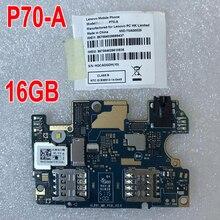 100% ทดสอบต้นฉบับเมนบอร์ดสำหรับ Lenovo P70 P70A P70 A P70t P70 T 2 GB 16 GB เมนบอร์ดการ์ดค่าชิปเซ็ตโทรศัพท์อะไหล่