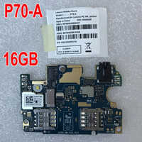 100% Tested Original mainboard For Lenovo P70 P70A P70-A P70t P70-T 2GB 16GB Motherboard card fee chipsets phone parts