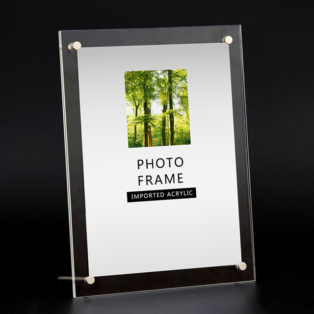 6781012 Inch Photo Frame Acrylic Picture Frame Modern Photo