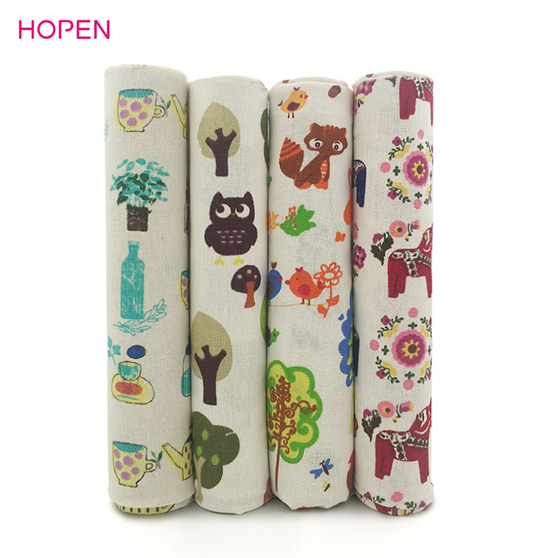 2017 newest hot sale 150x50cm sewing diy material cartoon for Sewing material for sale
