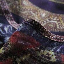 Boho New Chiffon Floral Printed Women Dress