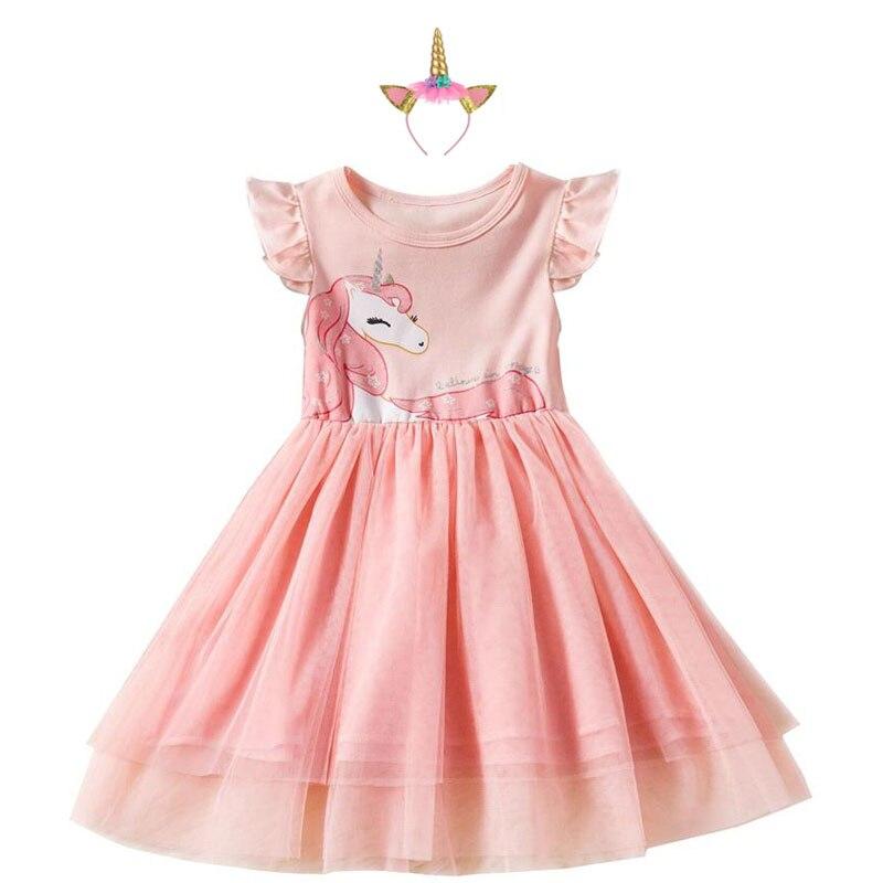 baby girl sequined unicorn dress for girls fantasy