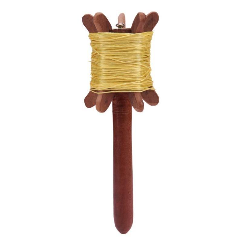 360 градусов вращающийся кайт линии доска кайт-Стринги-катушка обмотки деревянной ручкой воздушных змеев нейлон Нитки доска инструмент возд...