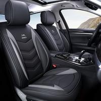 Универсальные кожаные чехлы для сидений автомобиля для kia rio 3 4 ceed picanto sportage 2018 kia cerato kia sorento авто аксессуары для стайлинга автомобилей