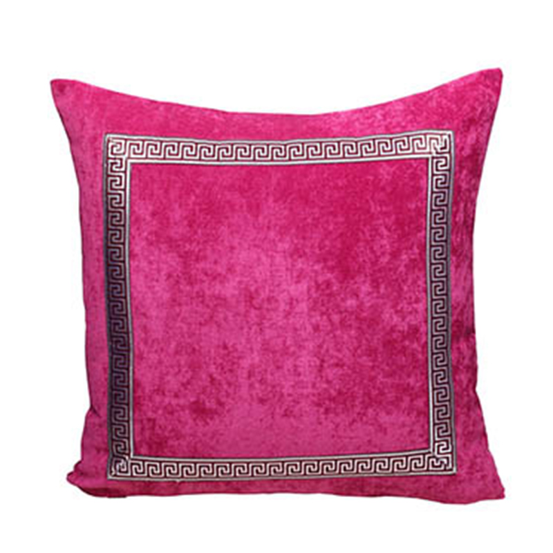 Luxury Patchwork Lace Sofa Cushion Velvet Fabric High End Home Office Seat Chair Backrest Lumbar <font><b>Pillow</b></font> 45x45cm <font><b>50x50cm</b></font> 60x60cm image