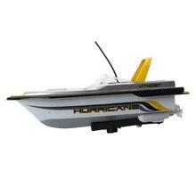 Miniature Mini 3352 RC Boat Radio Remote Control Yellow