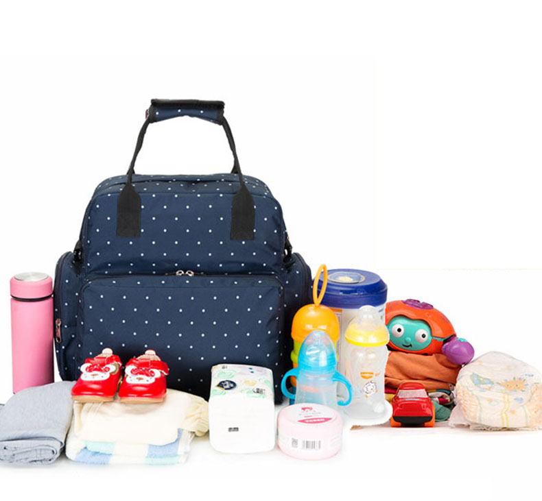 Baby can lie down Both shoulders High-capacity go out Multi-function Mother and infant Mummy Bag waterproof Diaper bagBaby can lie down Both shoulders High-capacity go out Multi-function Mother and infant Mummy Bag waterproof Diaper bag