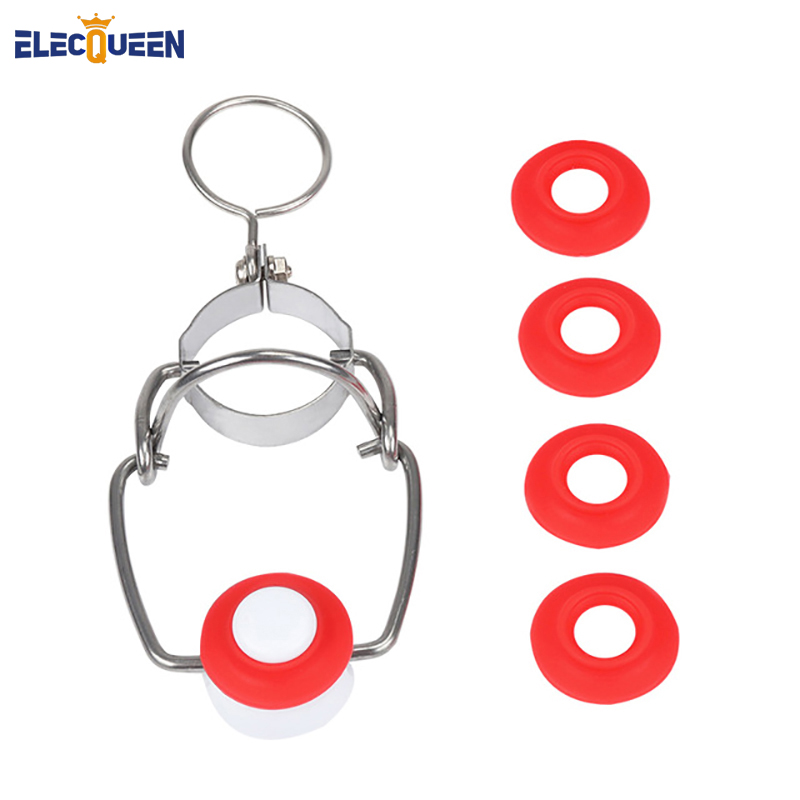 Ez Cap Flip Top Stopper Beer Bottles Replacement Swing Tops Brewing Wine Stoppers + 4pcs Silicone Gaskets Washers