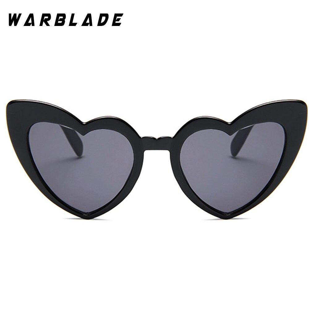 2018 Wanita kacamata Matahari Pria Retro Jantung Cat Eye glasses - Aksesori pakaian - Foto 4