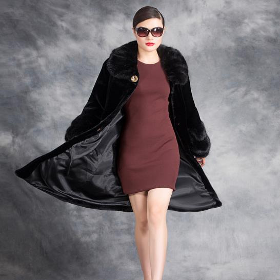 Manteaux Rallongent Furry 2018 Faux Pardessus M558 Femmes Fourrure Gilet Vison De Hiver Manteau Femme Longue Luxueux Chute fxqAEB0