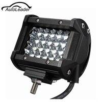 120 W 4 inç 24 LEDs 4-Row Sel Pod Nokta Işın Araba LED Çalışma işık Sis 6500 K Ön Arka Sol Sağ Çatı 6500 K Su Geçirmez Toz geçirmez
