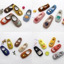 Anti-Slip Socks Children Girl Spring Rabbit 5-Pair/Set Cartoon Cotton Summer for Cat