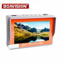 Portable 4 In 1 AHD TVI CVBS CVI Camera Tester 1080P CCTV Tester 4 3 Inch