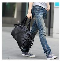 Men shoulder bag Large Capacity PU bag for Men PU leather travel handbag Teenagers Crossbody Shoulder Bag Men's Business bag