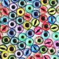 8 мм 22 цветов для выбора все в париже дракон глаза круглые стекло кабошон ювелирных нахождения камея привесные установки 50 шт./лот ( K05056 )