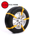 1pc TPU Snow Chains Universal Car Suit 145-285mm tire Winter Roadway Safety Tire Chains Anti slip Climb Mud road Anti-Slip