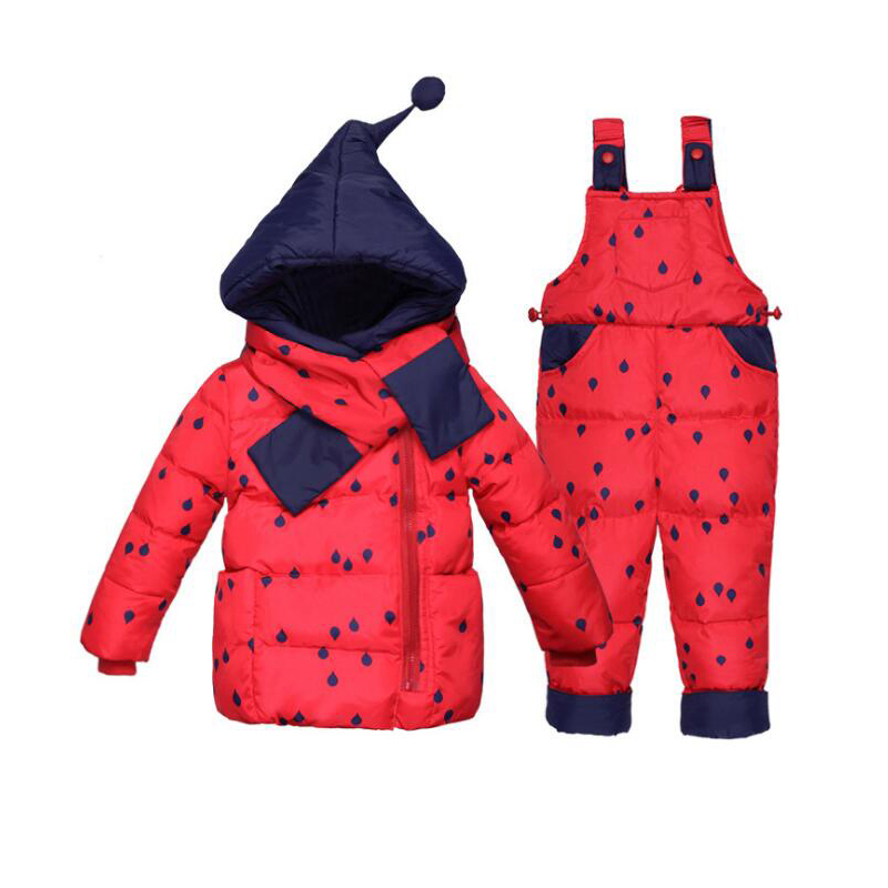 New Baby Set Boys Girls Winter Coat Down Jacket Toddler Girls Sets Children Outerwear Clothing Sets Kids Hoodies Jacket 2 YearsNew Baby Set Boys Girls Winter Coat Down Jacket Toddler Girls Sets Children Outerwear Clothing Sets Kids Hoodies Jacket 2 Years