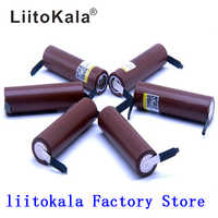 2019 Liitokala 18650 rechargeable Battery 3000mAh battery 18650 HG2 3.6V discharge 30A dedicated For E-cigarette Power batteries