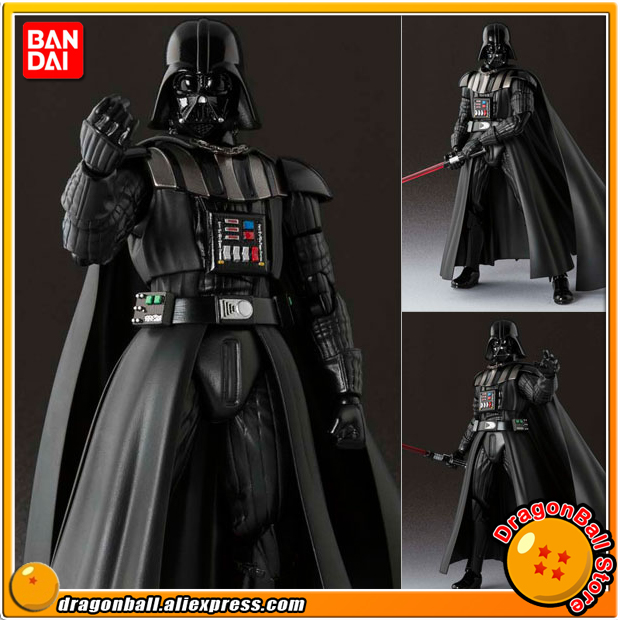 Star Wars Original BANDAI Tamashii Nations SHF S.H.Figuarts Action Figure - Darth Vader original bandai tamashii nations s h figuarts shf action figure battle droid from star wars episode i the phantom menace