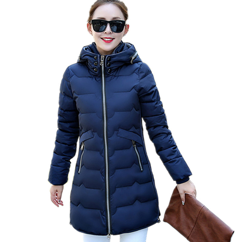 Plus Size Winter Hooded Warm Cotton Padded Female High Quality Winter Coat Medium-long Large Size Winter Jacket 7XL Parka TT3173 hot sale men winter long cotton coat fashion plus cashmere thicker hooded parka high quality keep warm men jacket large size 2xl