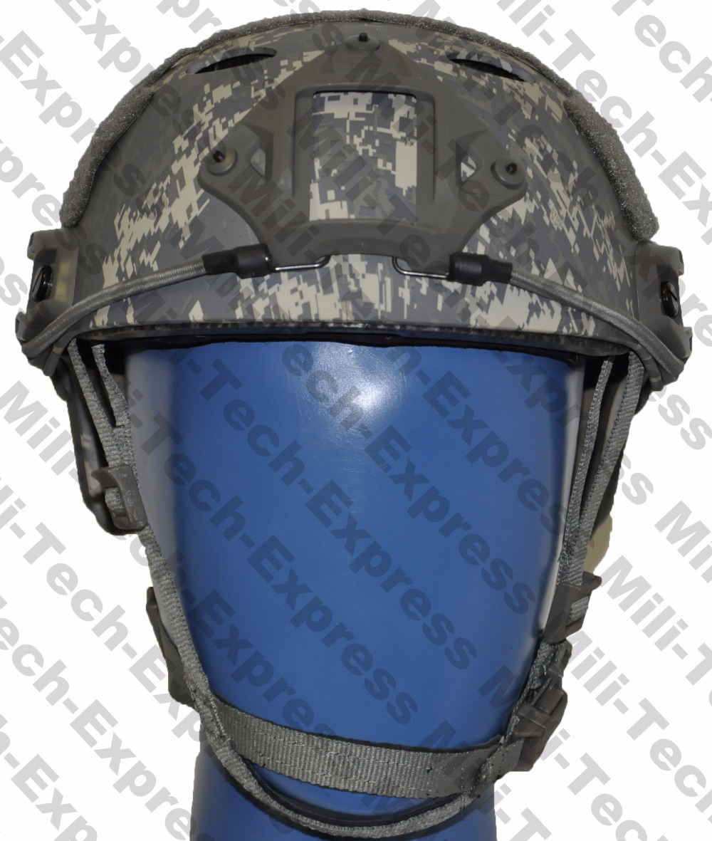 FAST ACU PJ Carbon Style Vented Airsoft Tactical Helmet / Ops Core Style High Cut Training Helmet / FAST Ballistic Style Helmet. fast aor1 pj carbon style vented airsoft tactical helmet ops core style high cut training helmet fast ballistic style helmet