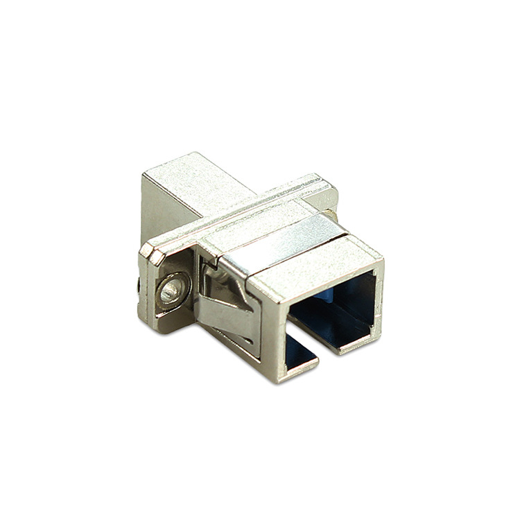 Image 2 - QIALAN SC Female   LC Female Hybrid Adapters fiber optical connector rectangle shape, zirconia internal tube-in Fiber Optic Equipments from Cellphones & Telecommunications