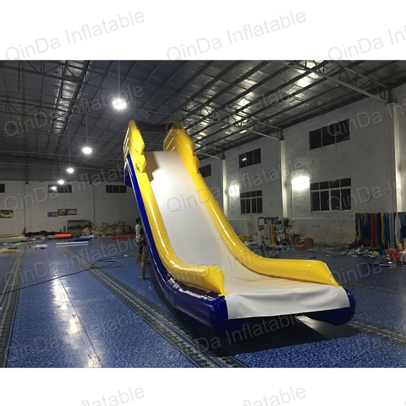 Freestyle PVC Cruiser Slides Sea Use Inflatable Yacht Slide for Boat Floating Water Slide for Ship 2017 summer funny games 5m long inflatable slides for children in pool cheap inflatable water slides for sale