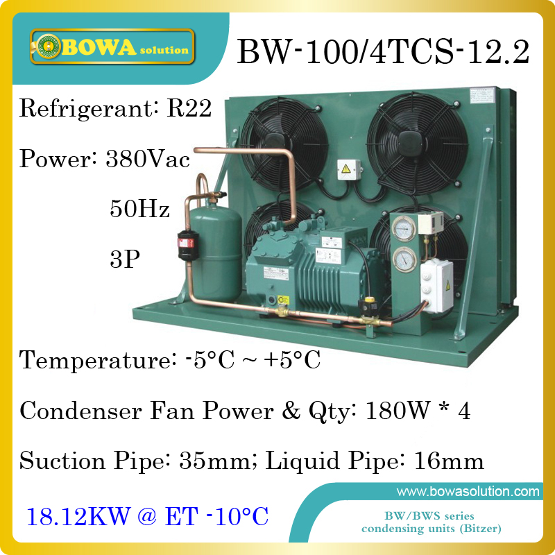 6720dollars Buy 15hp Cooling Equipments Unit With Bitzer Reciprocating Compressor Suitable For Moulds Temperature Machine Excellent In Quality