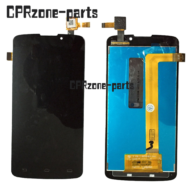 100% Warranty LCD Screen Display With Touch Screen Digitizer assembly FOR Philips Xenium V387 without upgrade firmware