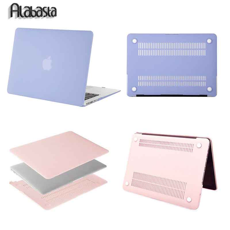 Alabasta For Macbook Pro 13 Retina Matte Plastic Hard Case Cover For Mac Book New Pro 13 15 inch A1706 Shell+Keyboard Cover Film