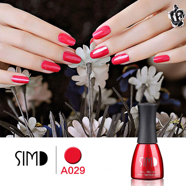 SIMD 15ML gel nail polish Organic UV Gel Polish Long-lasting Soak-off LED UV 3D nail Gelpolish for Gel Nail Gel  Nail Art Tools