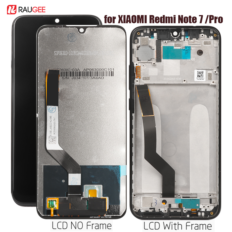 Display Für <font><b>Xiaomi</b></font> Redmi Hinweis <font><b>7</b></font> <font><b>LCD</b></font> Display Touch Screen Assembly Ersatz Für Redmi Hinweis <font><b>7</b></font> Pro Display Getestet Telefon bildschirm image