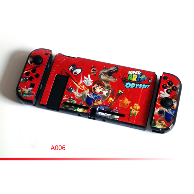 Nintend Switch NS Accessories Hard PC Protective Pattern Hard Skin Nintendos Crystal Shell for Nintendo Switch Console  1