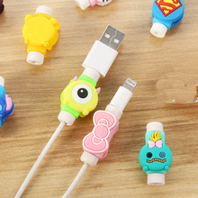 Travel accessories Cute Animals Cable Winder Earphone Protec