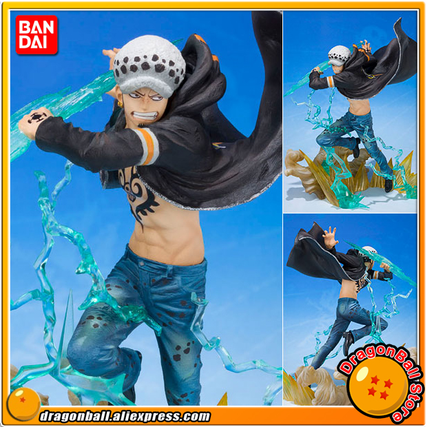 Japan Anime ONE PIECE Original BANDAI Tamashii Nations Figuarts ZERO Collection Figure - Trafalgar Law -Gamma Knife- anime one piece figuarts zero boa hancock despise japan anime pvc action figure resin collection model doll toy gifts cosplay