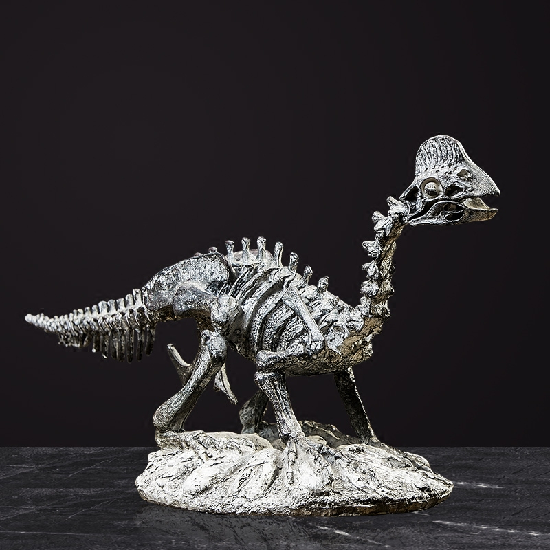 Dinosaure fossile Anime Figurine Animal squelette artificiel cadeau de noël salon décoration accessoires bureau ornements maison